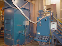 Used Nordson Powder Booth Ck Powder Coating Equipment